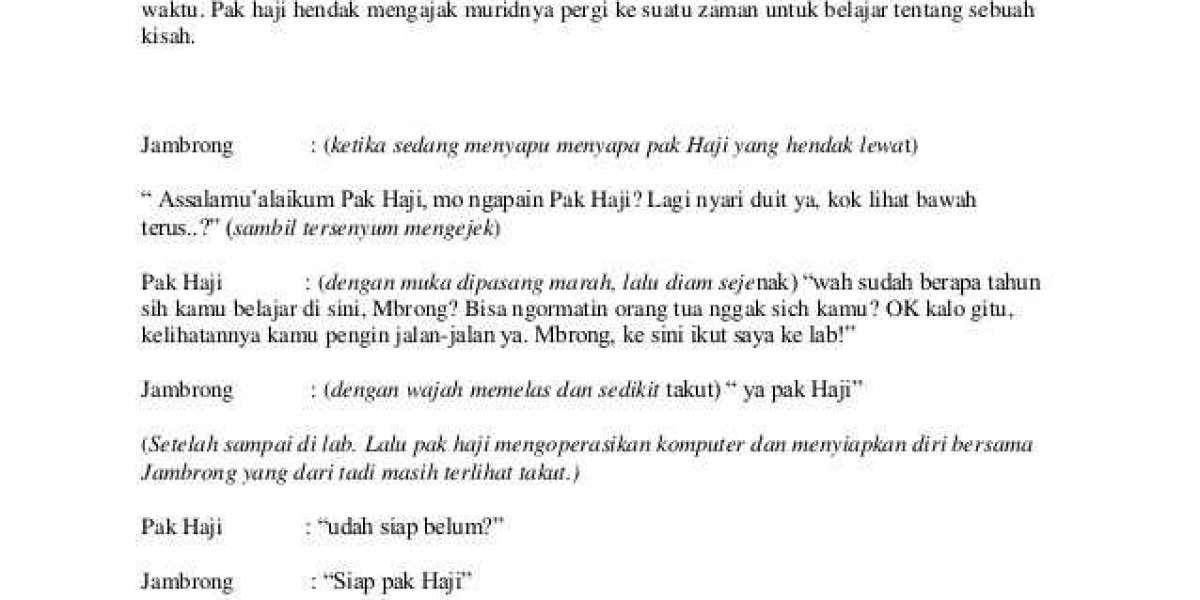 Pc Naskah Drama Cerita Rakyat 7 Orang Key X64 Full